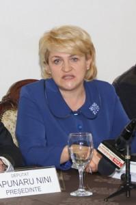 Ministrul delegat pentru Ape, Păduri şi Piscicultură, Lucia Ana Varga