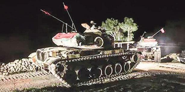 Турция стягивает войска к границам Ирака и Сирии