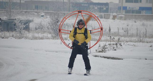 «Турецкий Карлсон на лыжах»