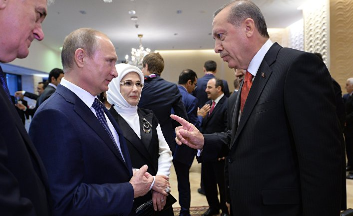 Путин может посетить Турцию в начале октября