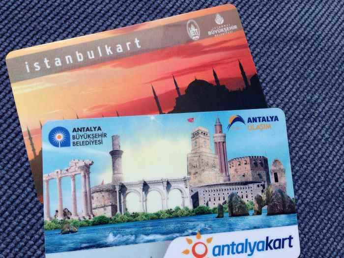 С 1 марта проезд в Анталии только по карточкам