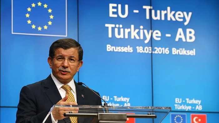 Ахмет Давутоглу о саммите ЕС — Турция