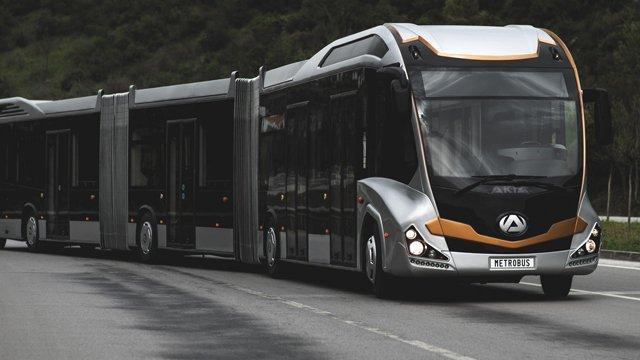 В Бурсе запустили самый длинный метробус в мире