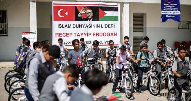 Турция направит 1000 детских велосипедов в Сектор Газа