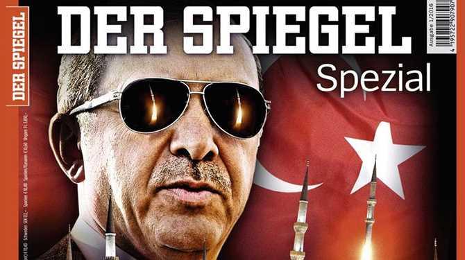 Издание Der Spiegel назвало Эрдогана диктатором