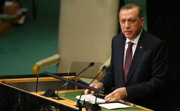 Эрдоган раскритиковал США, находясь в Нью-Йорке