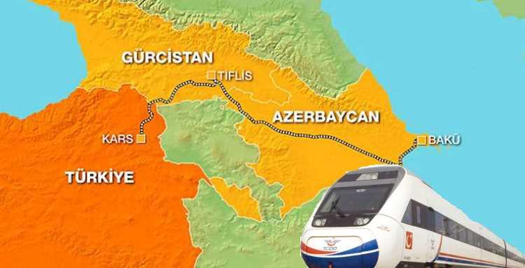 Первый поезд Баку-Тбилиси-Карс стартует 30 октября