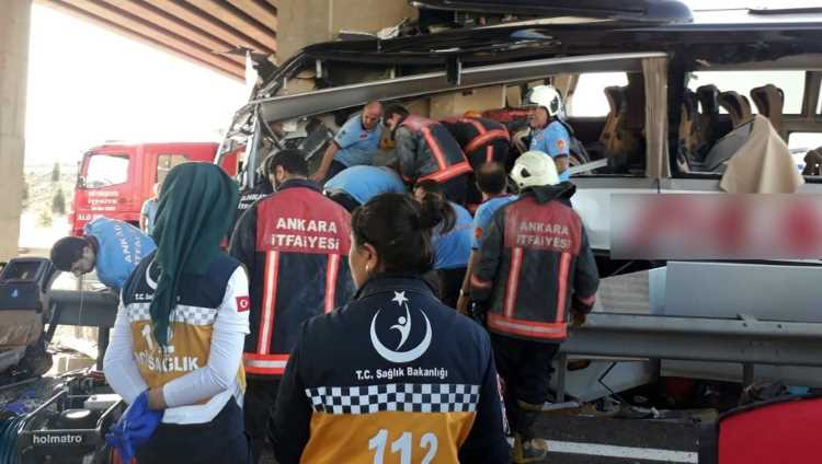 ДТП с участием автобуса: минимум 5 погибших