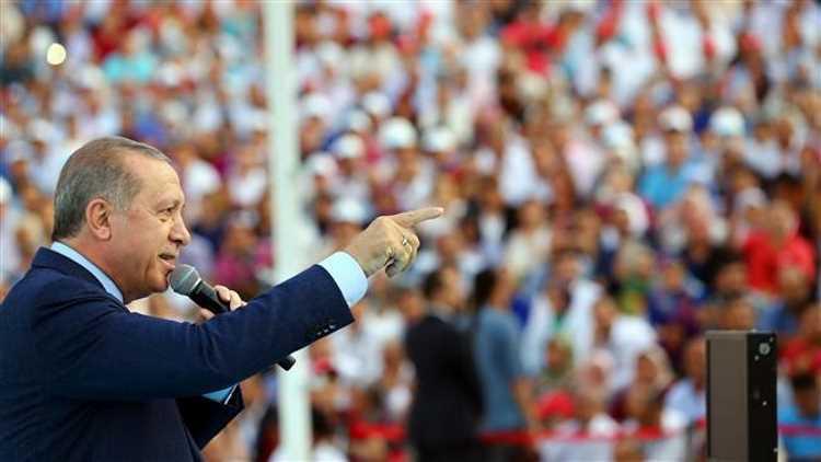 Эрдоган: «Западу стоит прекратить играть мускулами»