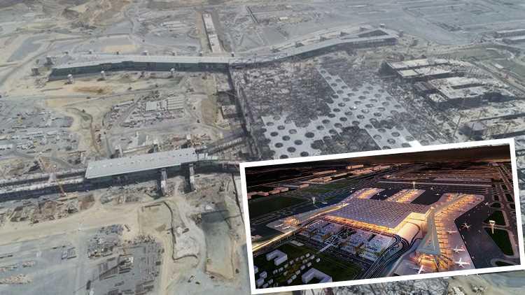 3-й аэропорт Стамбула готов на 64 процента