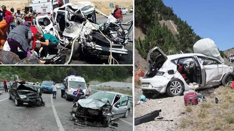 Аварии унесли жизни более 100 человек за выходные дни
