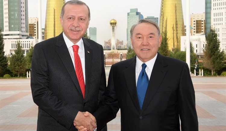 Назарбаев сегодня принимает в гостях Эрдогана
