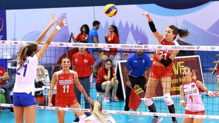 Турчанки обыграли россиянок и вышли в полуфинал