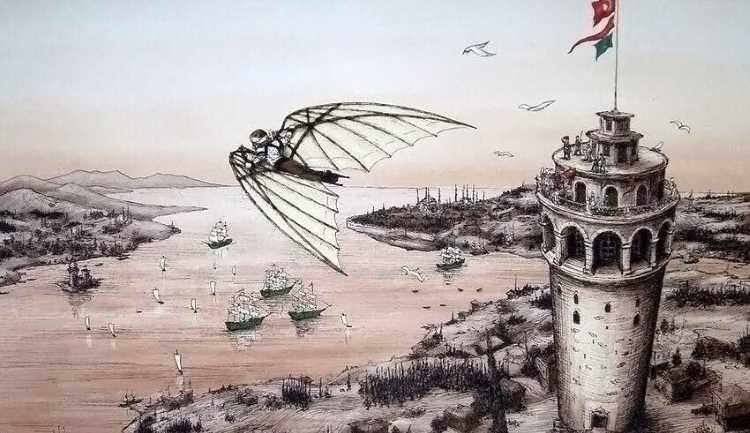 С Галаты до Ускюдара по воздуху спустя 385 лет