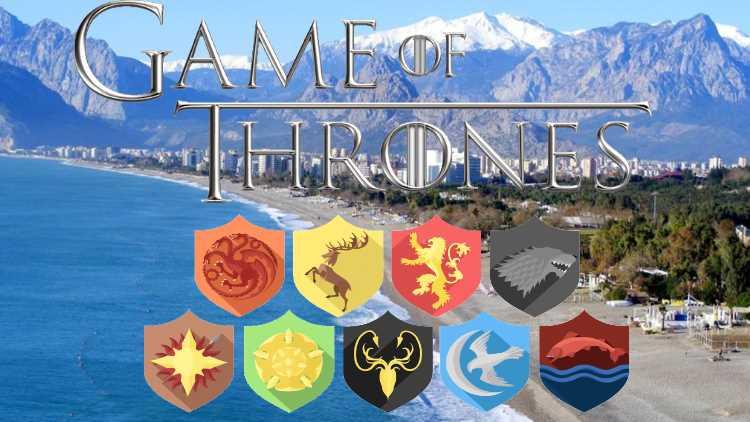 Анталия может стать местом съемок «Игры престолов»