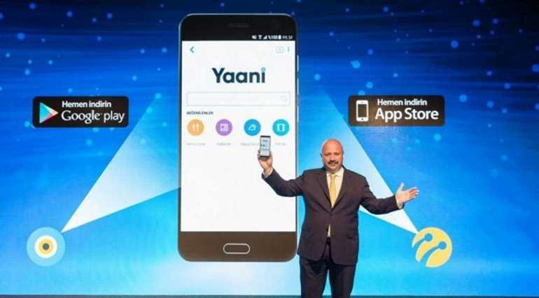 Turkcell представил свой поисковик Yaani