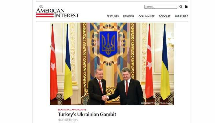 Украинский гамбит Турции