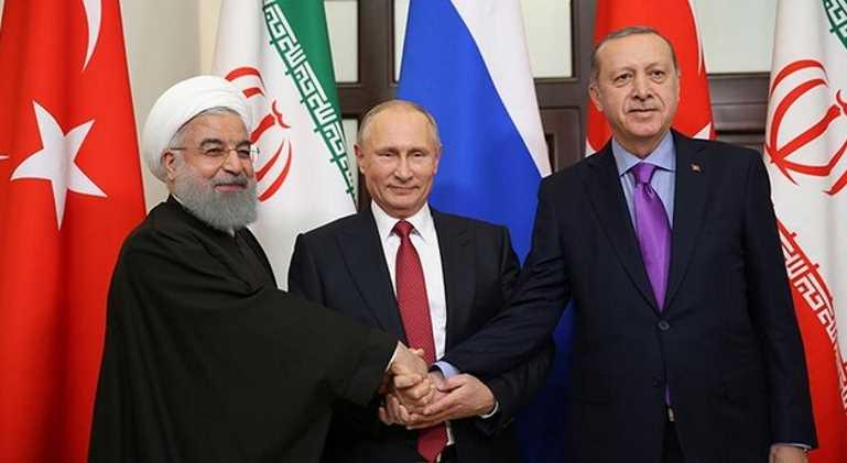 Турция, Россия и Иран выступили за единство Сирии