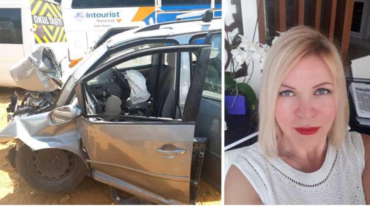 Россиянка серьезно пострадала в страшном ДТП в Анталье
