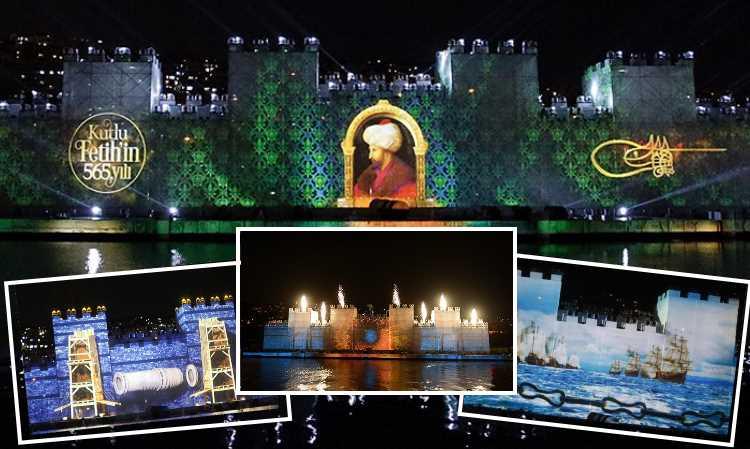 Стамбул отметил 565-ю годовщину завоевания ярким шоу