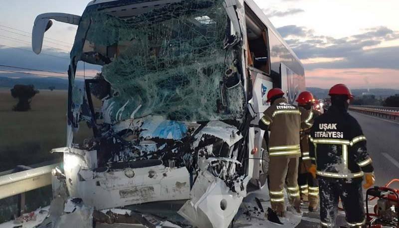 ДТП с участием автобуса: 2 погибших, 18 пострадавших