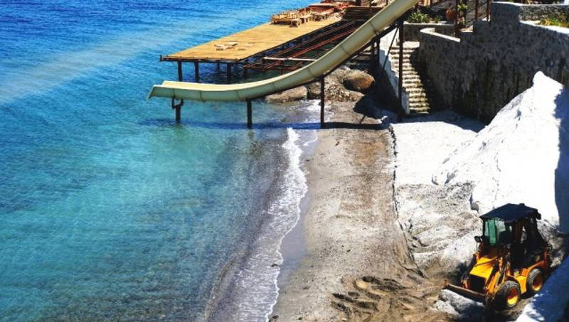 Штраф 310 000 лир вместо «Мальдивского пляжа»