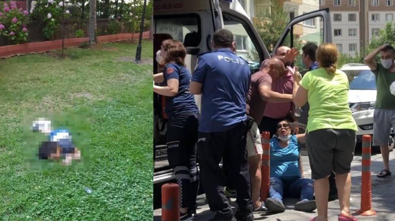 В Стамбуле 4-летний ребенок упал с 12-го этажа