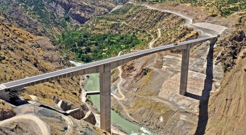 Самый высокий мост Турции объединил 5 провинций