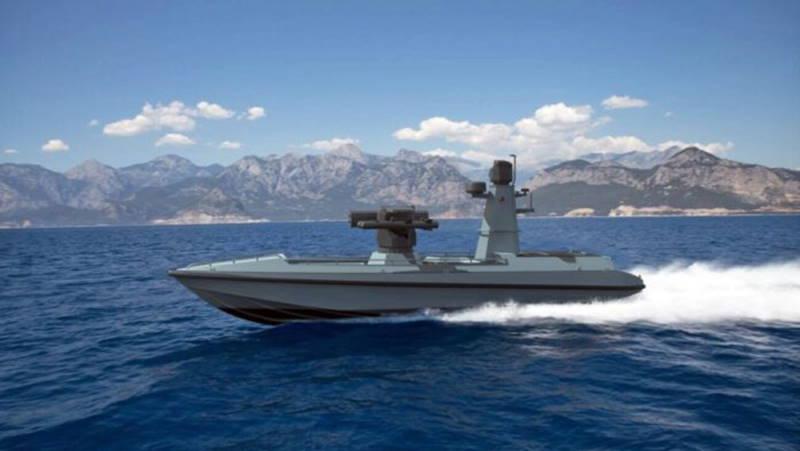 Турция готовит беспилотный военный катер