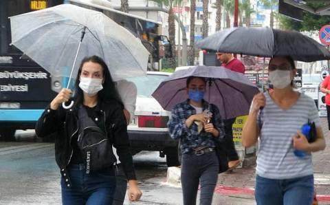 Турцию ожидают дожди и грозы