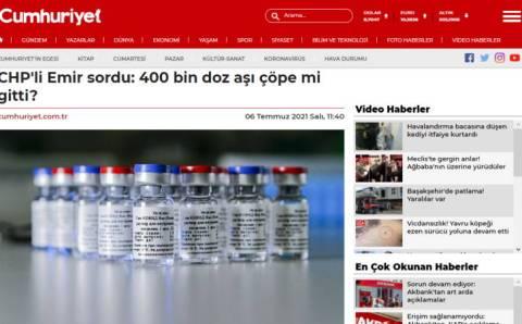 Член РНП Эмир: 400 тысяч доз вакцины пошли коту под хвост?