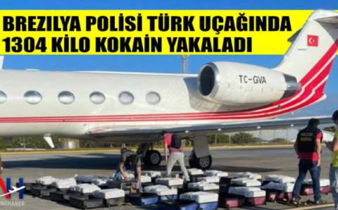 В Бразилии задержан турецкий самолет с тонной кокаина на борту