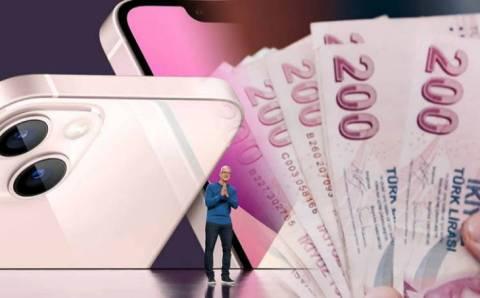 Новый iPhone 13 в Турции: от 11 до 23 тысяч лир