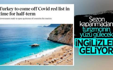 Британия спустя 4 месяца убрала Турцию из «красного» списка