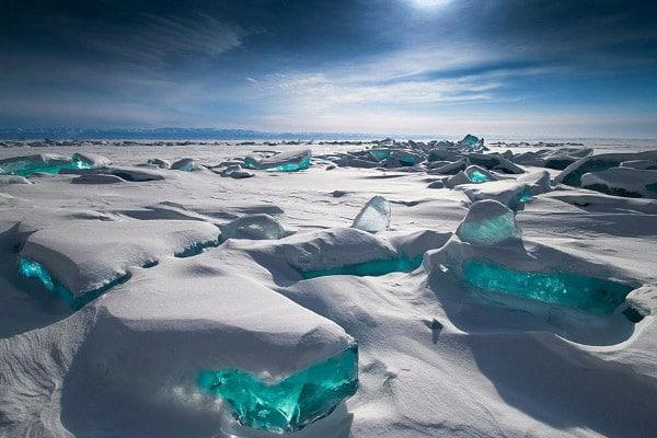 Lac Baikal en Russie