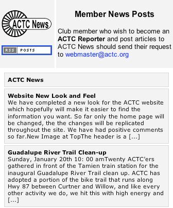 ACTC News Posts