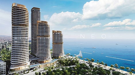 """Limassol Neo"" high rise development in Limassol"