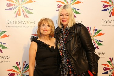 Honoree Mia Michaels with Dancewave Director Diane Jacobowitz