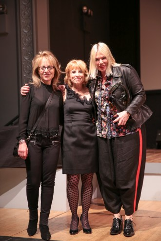 Presenter Nikki Feirt Atkins, Honoree Mia Michaels, and Dancewave Director Diane Jacobowitz