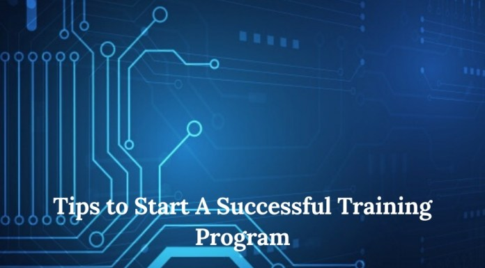 Tips to Start A Successful Training Program