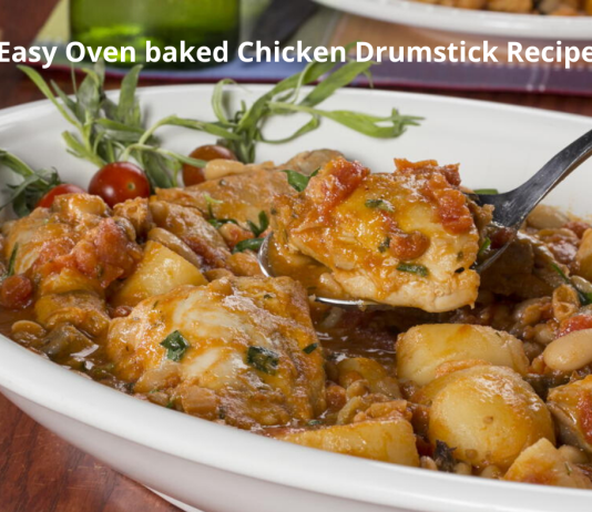 Easy Oven baked Chicken Drumstick Recipe