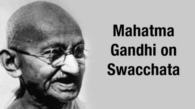 Mahatma Gandhi Quotes on Cleanliness