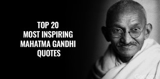 Top Best Famous Mahatma Gandhi Quotes