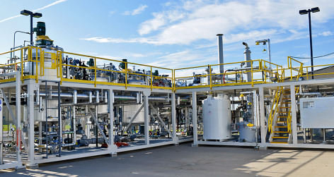 The new Bio-Polymer Processing Facility