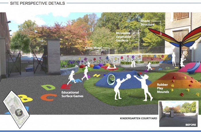Breathing New Life Into Schoolyards Benefits Entire