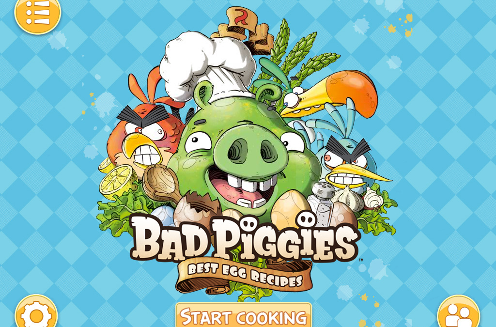 My Angry Birds: Bad Piggies Best Egg Recipes Cookbook Released!