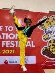 10 Year Old Stephanie Onusiriuka wins Best Overall Gymnast in Nigeria