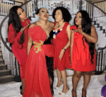 Nigerian lady throws a party to celebrate her divorce (videos/photos)