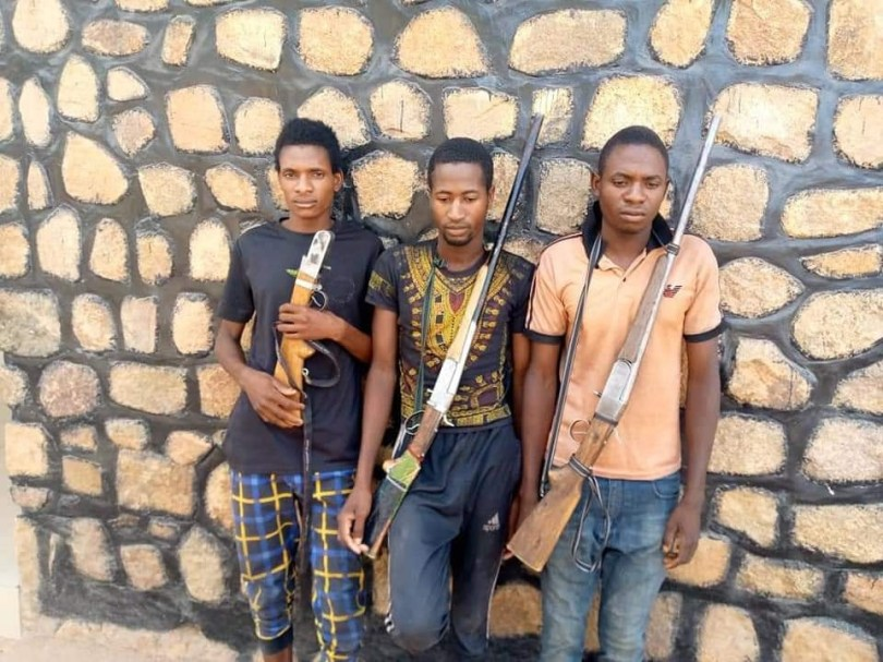 Police arrest 4 suspects for kidnapping and extortion in Adamawa, recover threat letters, guns