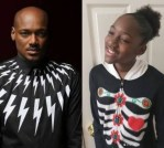 """I don't see it. I'm not bald,"" Tuface Idibia's daughter, Ehi, 15, reacts after being told she looks just like her dad (video)"